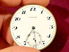 Antique Tiffany Longines pocket watch movement