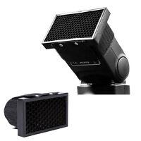 Flash Honeycomb Grid Spot Filter For Canon Nikon Sony Godox Speedlight Softbox