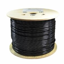 500Ft Cat6 Outdoor Direct Burial Cable Bare Copper Cmx 550Mhz Ethernet 23Awg Etl