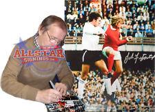 JOHN FITZPATRICK SIGNED MANCHESTER UNITED FOOTBALL PHOTO COA & PROOF