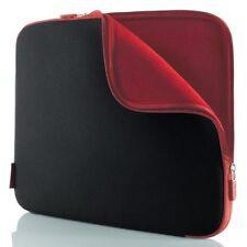 Notebook Sleeve protective case Neoprene 10.2 '' Jet Black / Cabernet Red
