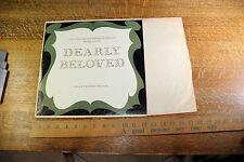 """Vintage Record, Longines Symphonette: """"Dearly Beloved"""" Gold Medal on 12"""" LP"""