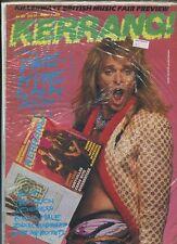 Kerrang #125  David Lee Roth ElP Love And Rockets Loudesss  New Sealed MBX94