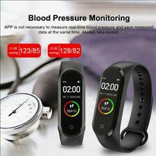 Reloj Pulsera M4 Banda Inteligente Pulsera Fitness Tracker la presión arterial heartrate #
