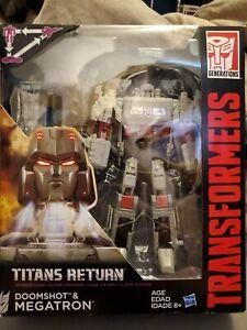 Transformers Generations Titans Return Megatron and Doomshot NEW