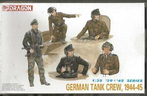 Dragon WWII German Tank Crew 1944-1945, Figures in 1/35  6014   ST  A3