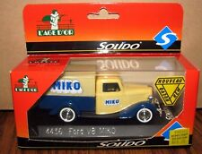 MIKO French Ice Cream 1936 Ford V8 Truck & Display Stand  4436 Solido Toy  1:43