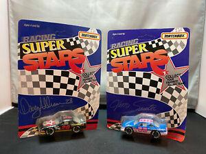 Matchbox NASCAR Racing Super Stars 1/64 Diecast Lot Davey Allison Jim Sauter