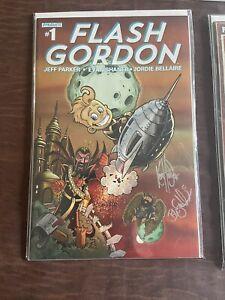 Flash Gordon -#1 Signed By Artist Ken Haeser / Blain. Death To Ming Variant Cvr
