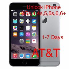 iPhone 6,6 Plus - AT&T FACTORY UNLOCK CODE SERVICE(All 3,3Gs,4,4s,5,5s,6,6+)