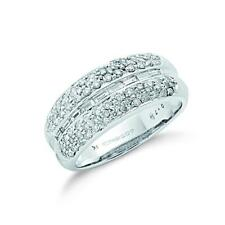 Unbranded White Gold SI1 Fine Diamond Rings