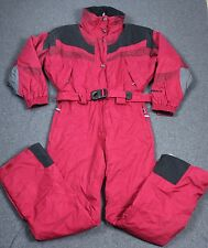 Nordica Vertech One Piece Snow Ski Snowboard Suit Red Womens 12