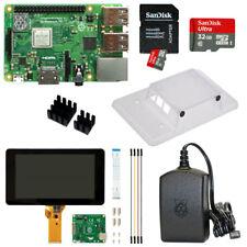 "Raspberry Pi 3 Model B+ plus 32GB mit 7"" mit Touchscreen u. Gehäuse transparent"