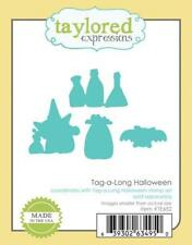 TAYLORED EXPRESSIONS   Tag-a-long Halloween Dies   TE652
