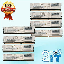 HP 32GB (8x4GB) PC2-5300 398708-061 466436-061 DDR2-667MHz ECC Server RAM Memory
