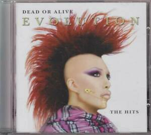 """DEAD OR ALIVE """"Evolution - The Hits"""" Best Of CD"""