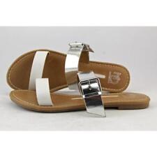 36 Scarpe da donna pantofole, ciabatte in argento
