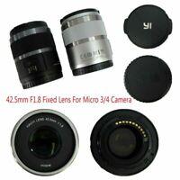 42.5mm F1.8 Festobjektiv Micro 3/4 für Panasonic G6 G7 GF8 Olympus M SLR YI M1