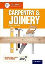 Carpentry & Joinery Level 1 Diploma by Leeds College of Building, NEW Book, (Pap