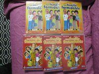 """LOT DE 10 DVD NEUF """"UNE FAMILLE FORMIDABLE - SAISON 1 A 6 (1 2 3 4 5 6)"""""""