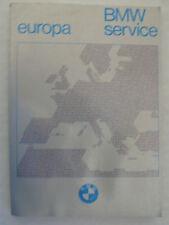 BMW Service Europa, 8.1979, 152 Seiten