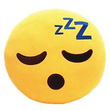 Sleeping Emoji Pillow Emoticon Princess Cushion Soft Plush Toy Doll USA Seller