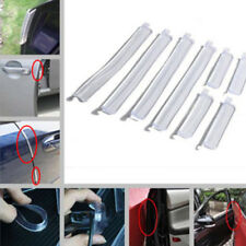 8x Universal Car Door Edge Guard Trim Mold Protect Strip Scratch Protector Clear