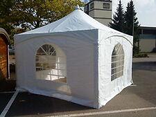 Pagodenzelt 500 gr. PVC 3,6 x 3,6 m Zelt Bierzelt VIP <Luxus - Pavillon EDEL NEU