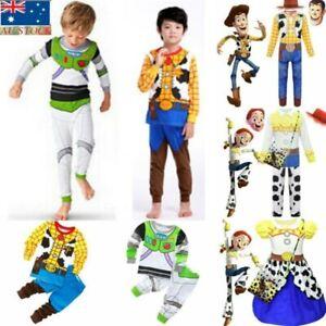 Kids Cosplay Toy Story Costume Buzz Woody Lightyear Jessie Travis Outfit Novelty