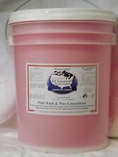All American Car Care Products Pink Wash & Wax Concentrate One Step (5Gallon)