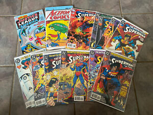 superman comic book lot In Good Condition