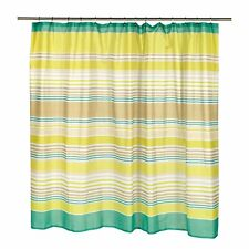 """Carnation Home Extra Wide """"Brighton"""" Fabric Shower Curtain"""
