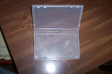 VHS  case  clear plastic.
