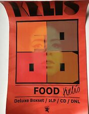KELIS - FOOD HAND SIGNED POSTER AUTOGRAPHED