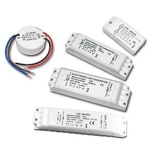 LED Transformer 240V - DC 12V, Driver Ballast EVG IP20 Power supply for lighting
