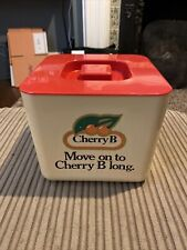 More details for vintage cherry b ice bucket with strainer by invicta home bar man cave retro 70s