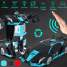 Transformation Car Gesture Sensing & Remote Control Racing Car Model RC Toy Gift