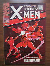 """X-MEN"" NO.41, FEB. 1968 VERY FINE + CONDITION, ORIGINAL OWNER!!"