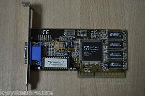 S3 Trio3D/2X QCE2HC 86C368 0017 B3L0C TAIWAN 8MB S3 TRIO AGP Video Graphics Card
