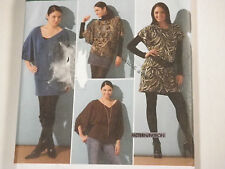 S-2804 Top Mini Dress Sewing Pattern Simplicity Plus Size 14-16-18-20-22 Uncut