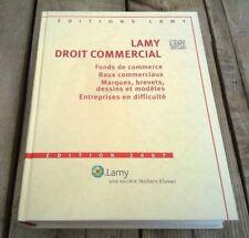 LAMY / Droit économique, 2008
