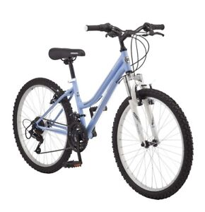 "🔥🔥READY TO SHIP New RoadMaster 24"" Granite Peak Girls Mountain Bike,Light Blue"