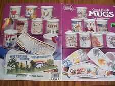 Mugs for All Ocassions Cross Stitch PATTERN  Booklet/Leaflet