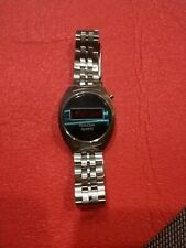 Bulova Vintage Quartz Digital Display Case & Band N7