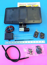 Roush Electric Hide-Away Power Retractable License Plate  Remote Controls