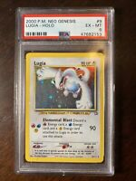 Lugia 9 /111 2000 Neo Genesis PSA 6 EX-MT 1st gen HOLO Foil Pokémon Rare Edition