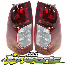 TAILLIGHTS PAIR SUIT HOLDEN RODEO RA LT 06-ON TAILLAMPS TAIL LIGHTS LAMPS