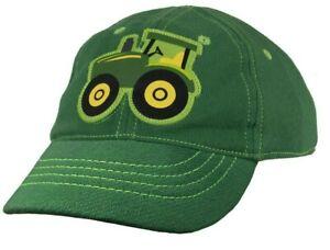 NEW John Deere Green INFANT Tractor Cap 6-12 Months LP68347