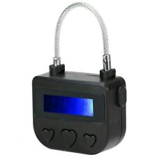 Digital Timer Switch USB Rechargeable Time Switch Lock Padlock Multipurpose.