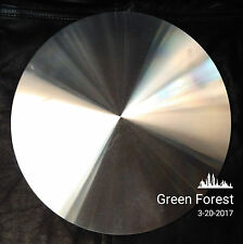 "8"" - 1/4"" Screwback Precision Aluminium Polishing Head Lapidary Glass arbor"